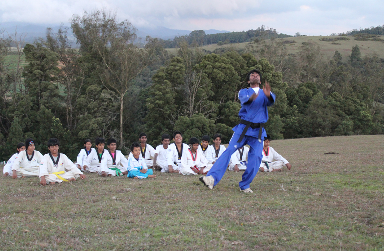 taekwondo competition training in coimbatore