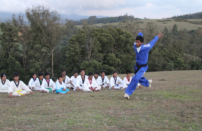 taekwondo training center in Coimbatore tamilnadu