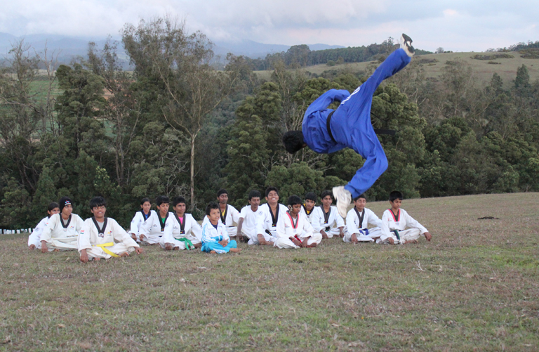 taekwondo training school in Coimbatore
